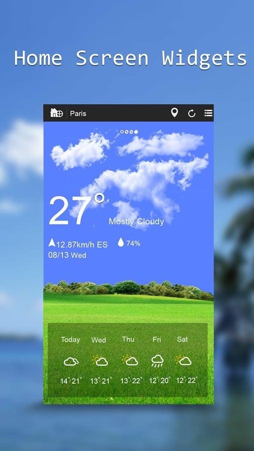 Weather Widget截图