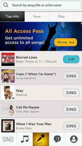 Sing!截图