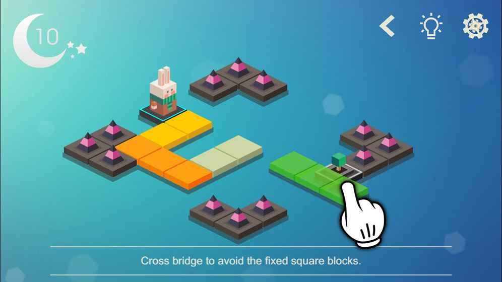 连接 : 建造木块桥