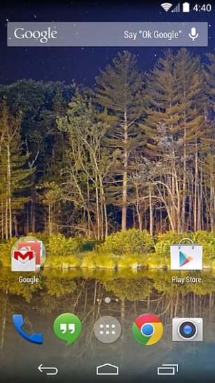 Google Now Launcher截图