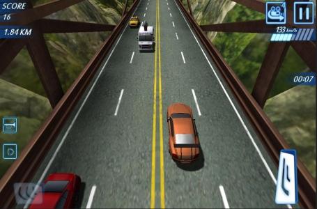公路赛车 交通高峰
