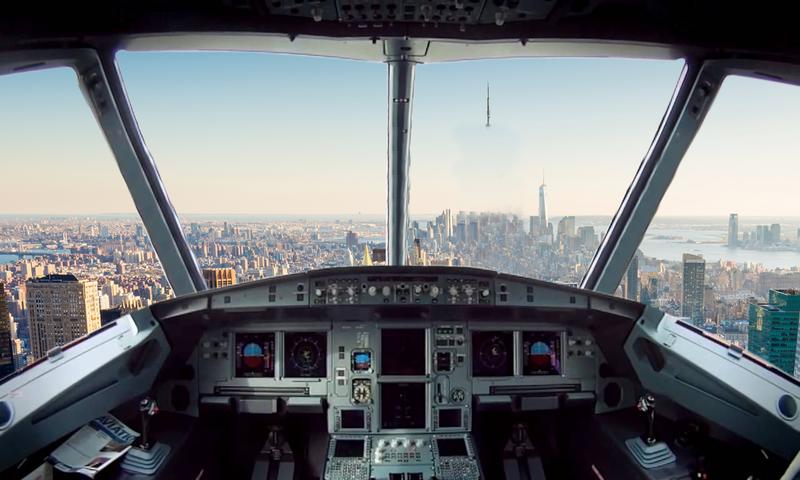 真实飞机飞行模拟器截图