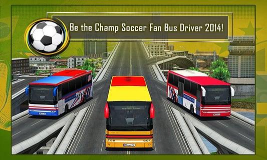 足球迷巴士司机3D 修改版截图