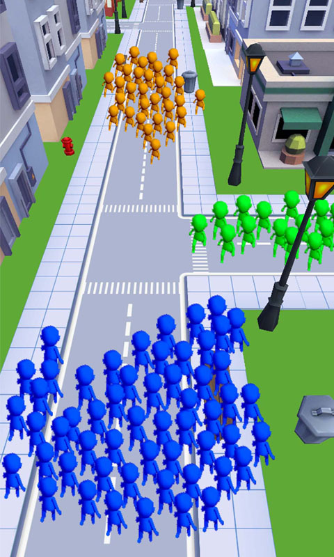 拥挤的城市截图