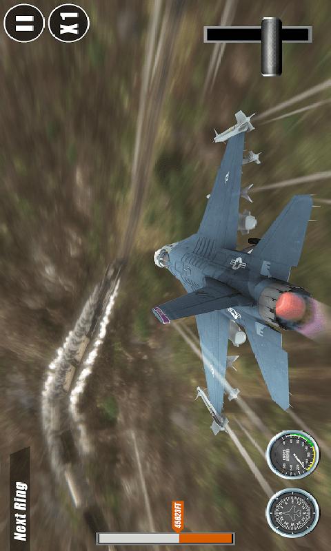 飞行员驾驶模拟