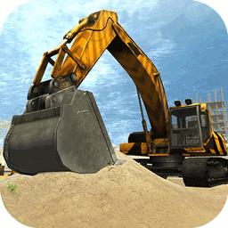 挖掘机模拟3D