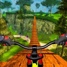 山地自行车下坡