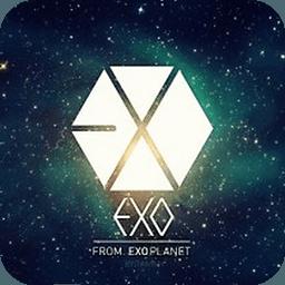 EXO图图锁屏