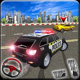 警察高速公路追逐赛