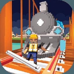 河铁路桥梁建设火车游戏2017