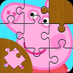 粉红猪小妹拼图