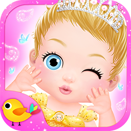 公主的新生小宝宝照顾