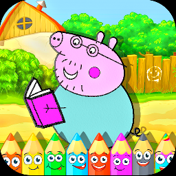 小猪佩奇绘画本