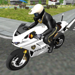 摩托车执勤