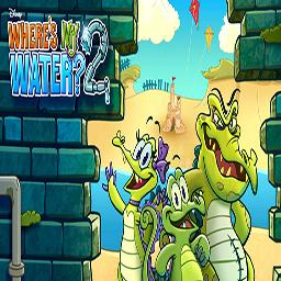 小鳄鱼爱洗澡2