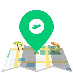 环球旅游地图