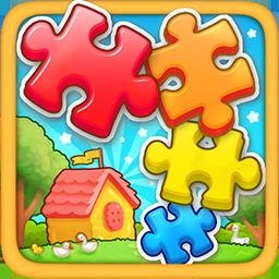 儿童游戏-学拼图
